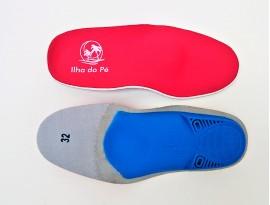 Palmilhas Ortopédicas Infantis para pés Supinados