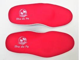Palmilhas Ortopédicas Infantis para pés Pronados